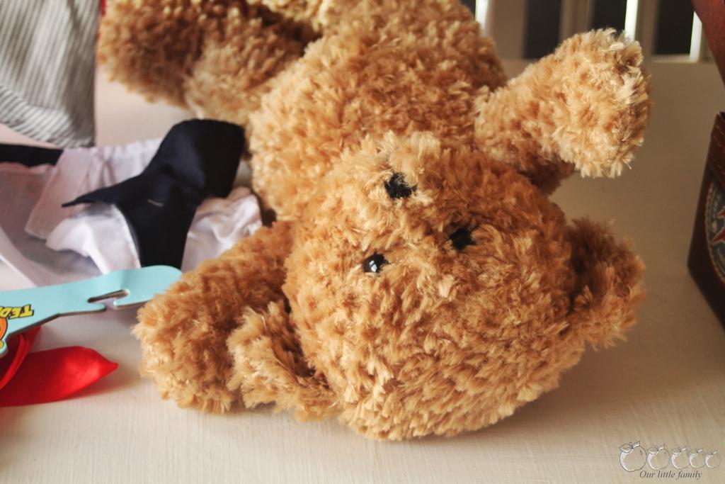 Apollinaire, le teddy que mes enfants ont crée