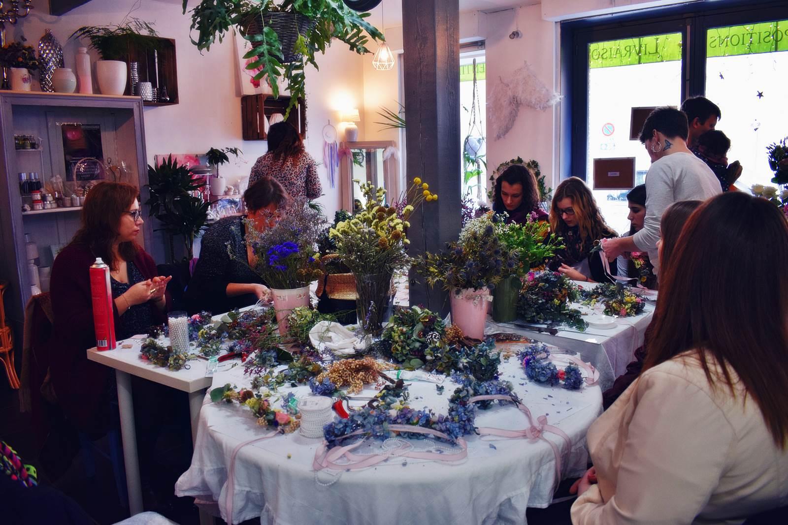 Atelier couronnes fleur photos chateaubriant 20