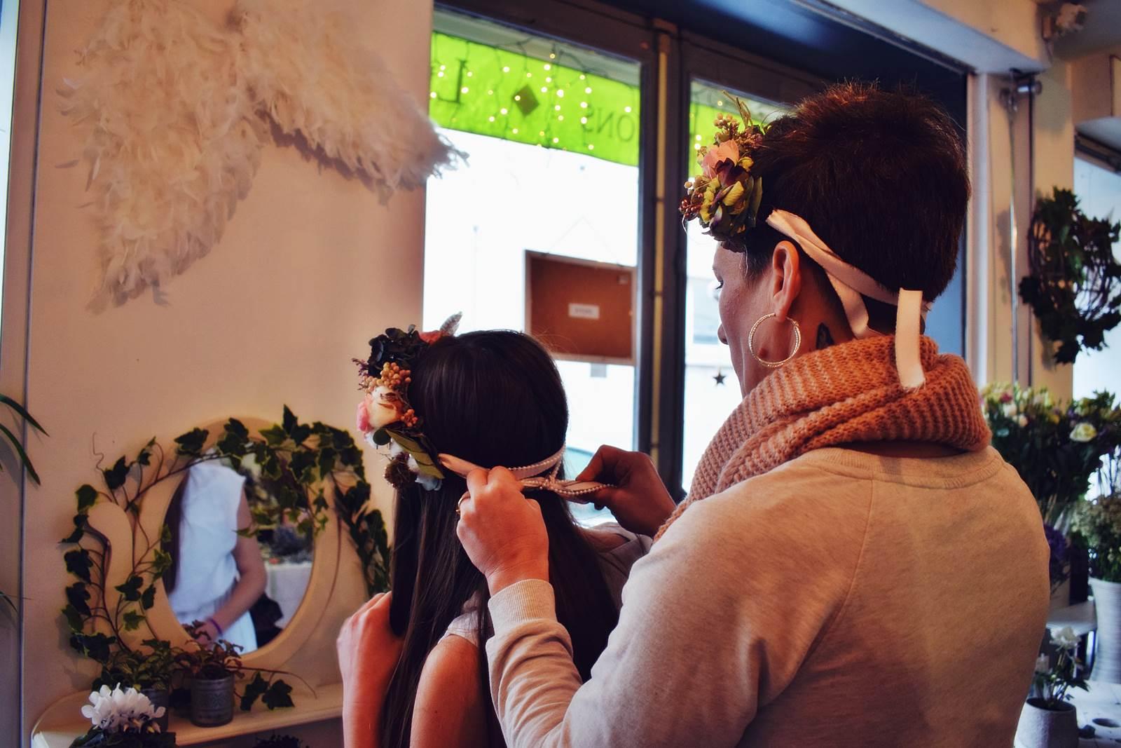 Atelier couronnes fleur photos chateaubriant 27