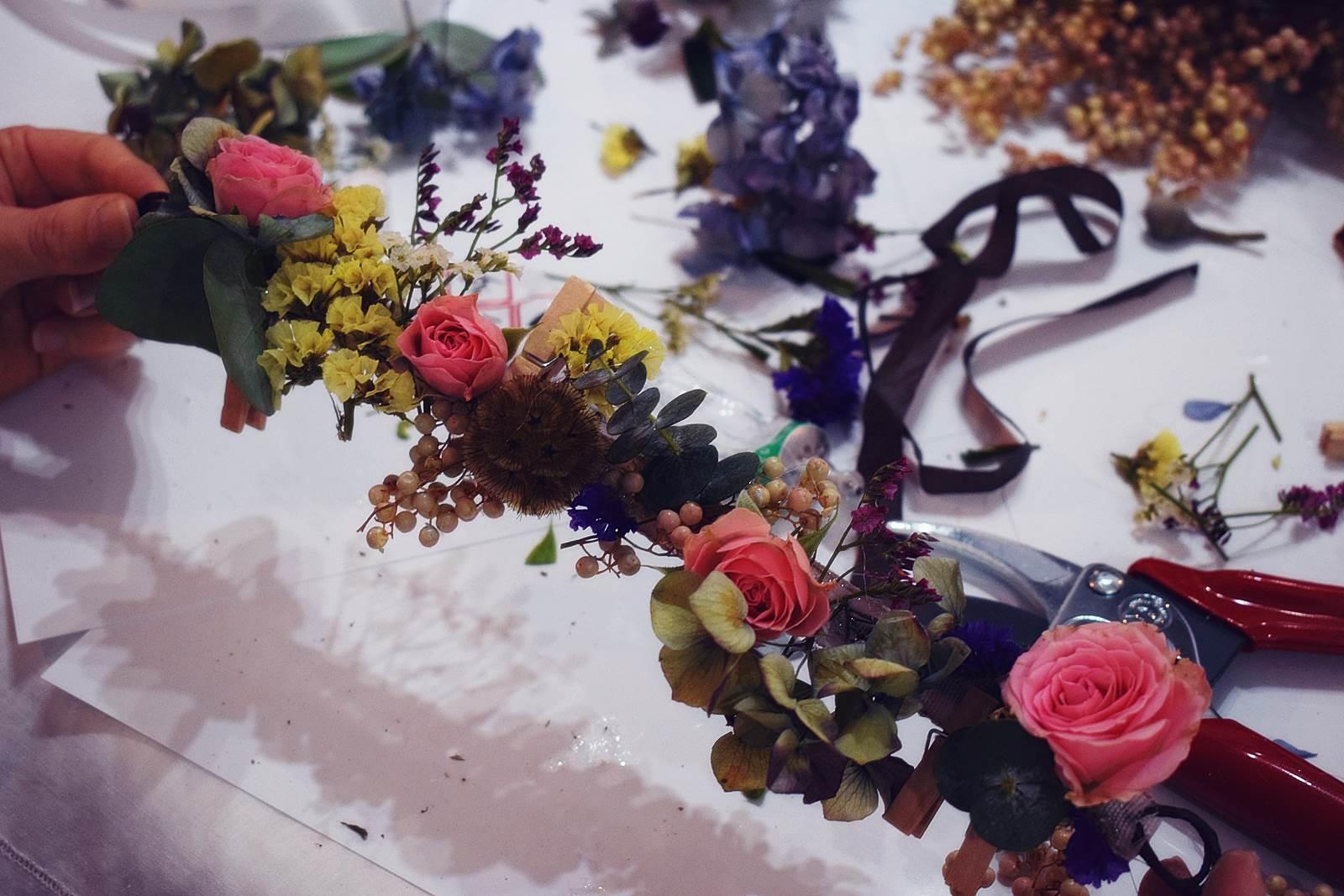 Atelier couronnes fleur photos chateaubriant 3