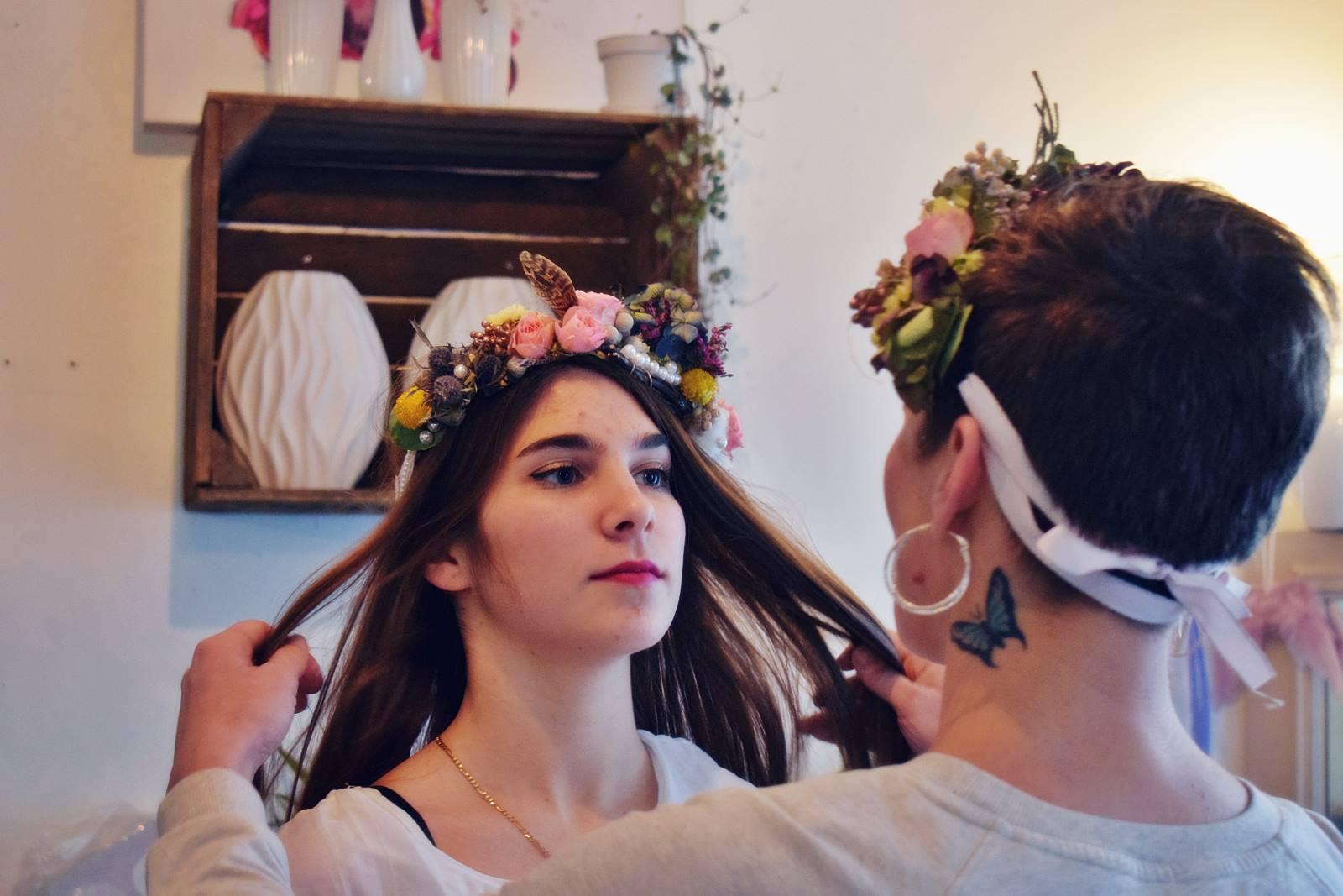 Atelier couronnes fleur photos chateaubriant 30