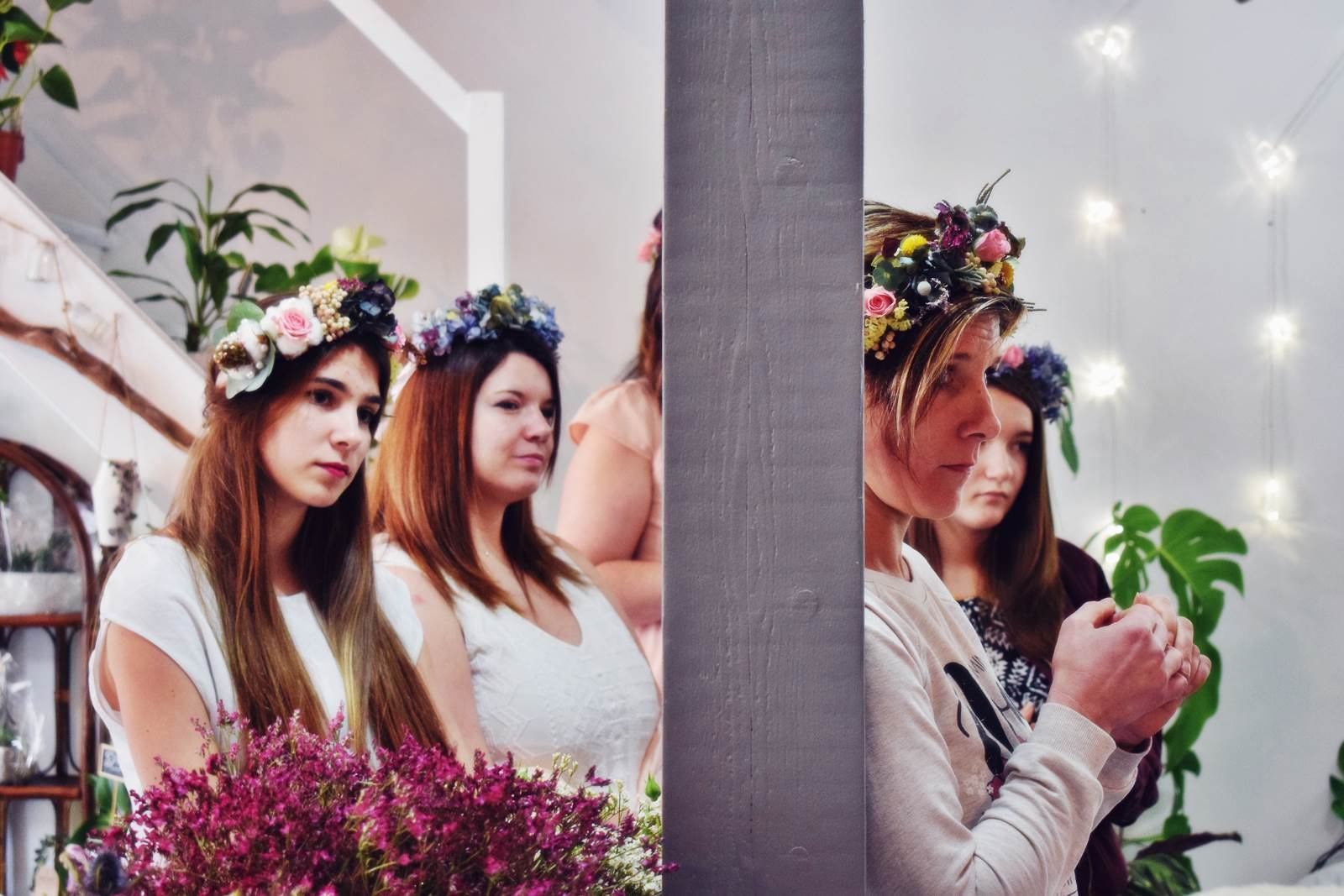 Atelier couronnes fleur photos chateaubriant 37