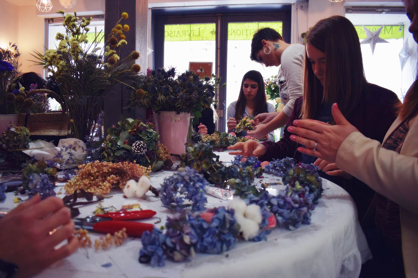 Atelier couronnes fleur photos chateaubriant 4