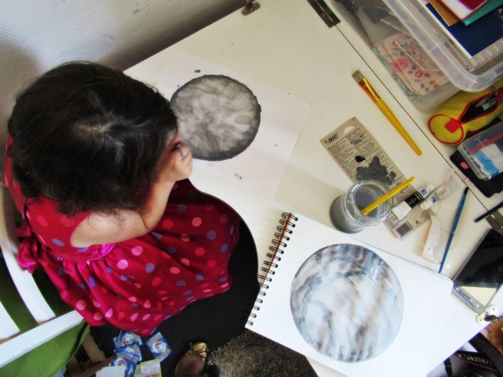 Blog dessin diy lune ief homeschooling