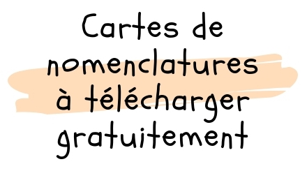 Cartes de nomenclatures a telecharger gratuitement