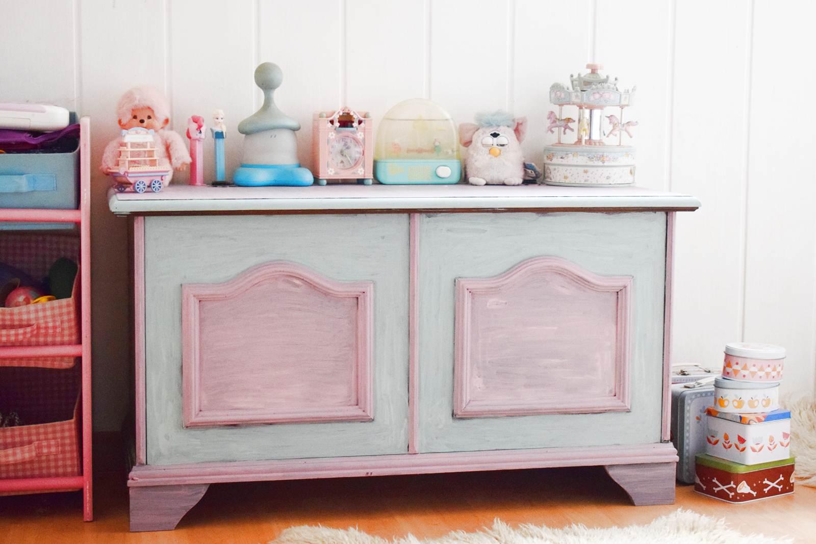 Une chambre couleur pastel