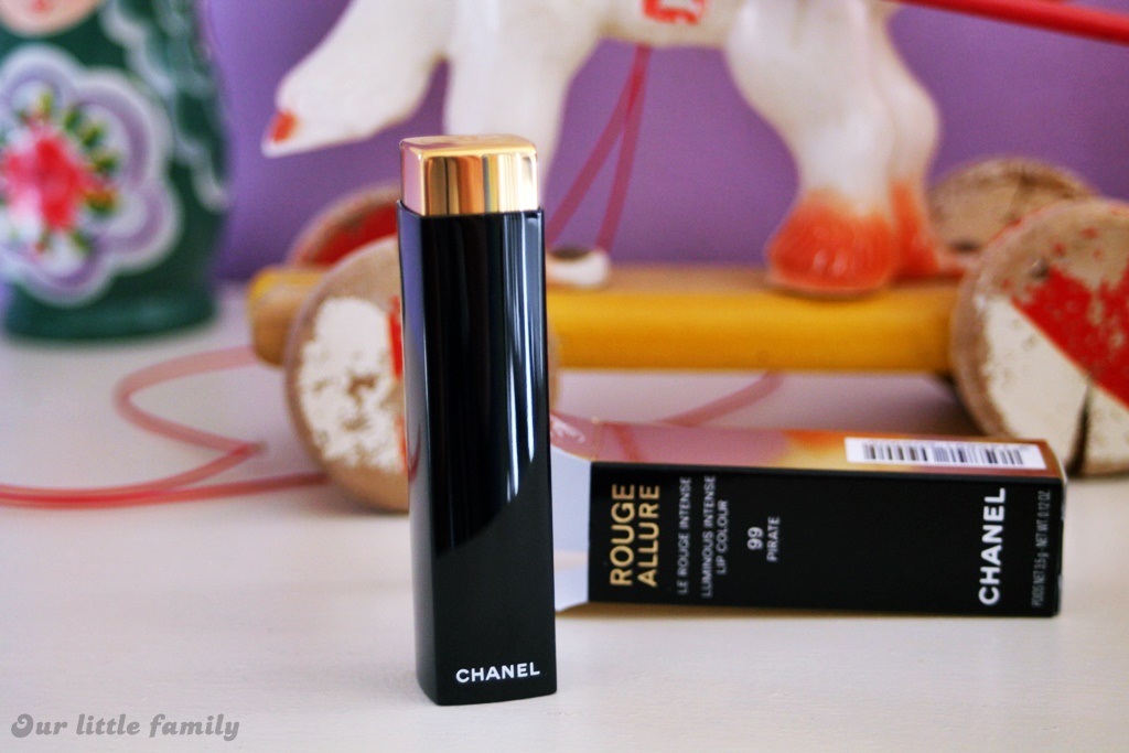 Chanel rouge allure 99 pirate 3