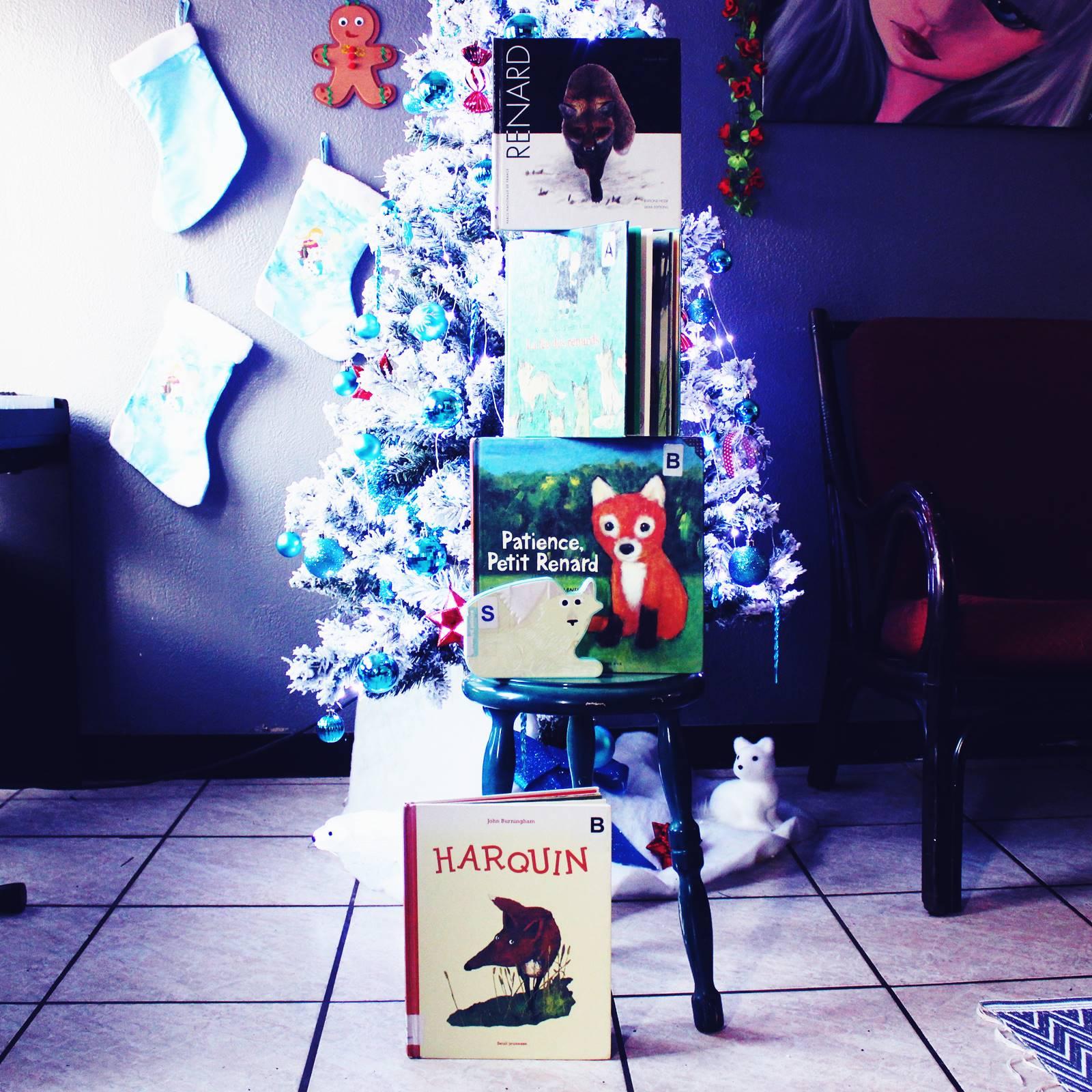 Cinq livres jeunesses sur les renards