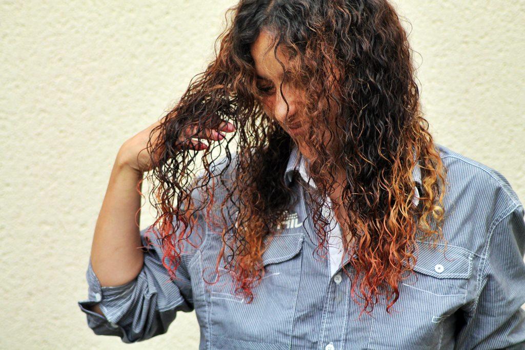Coloration cheveux avec colorant alimentaire 6