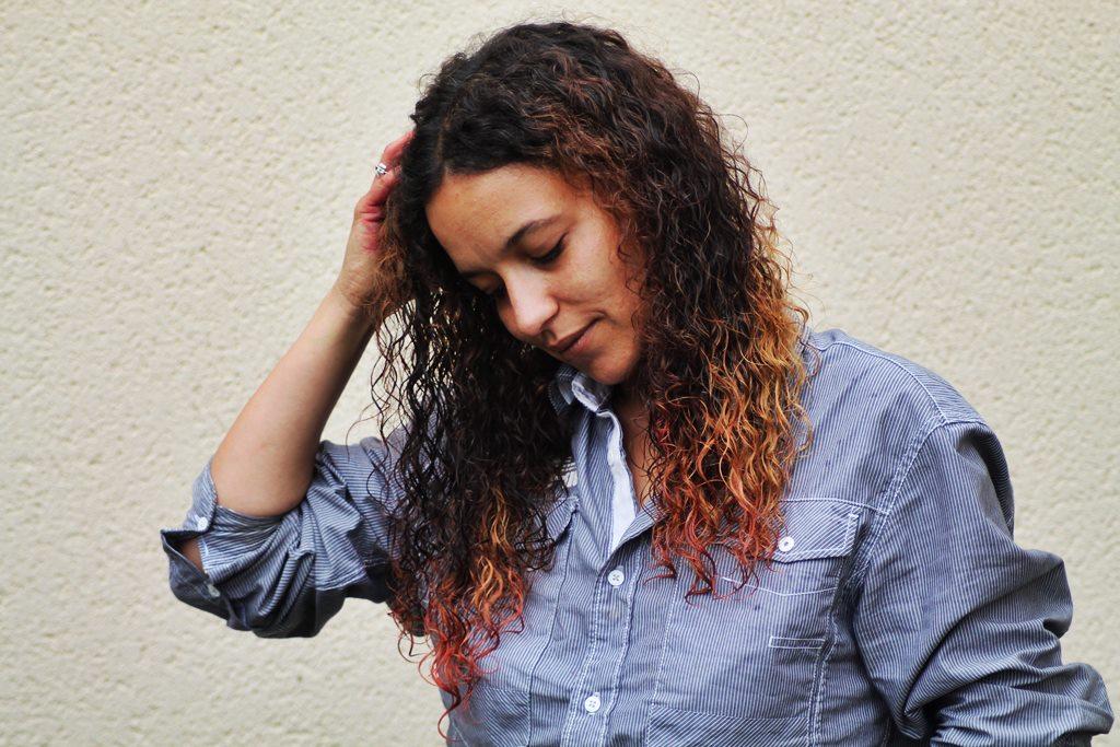 Coloration cheveux avec colorant alimentaire 8
