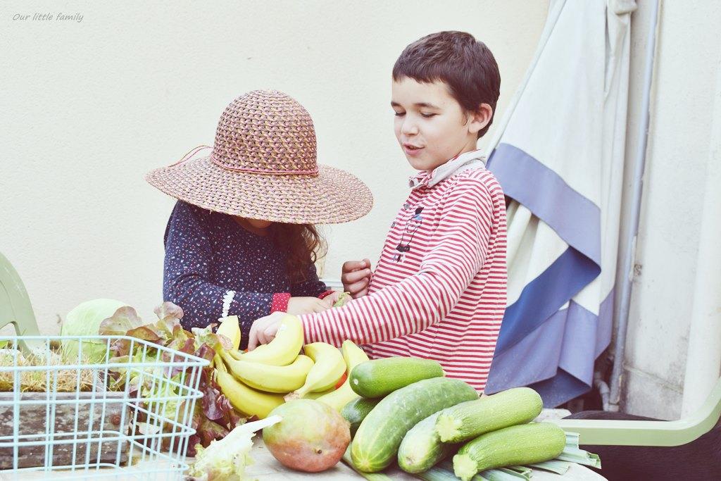 Cuisiner avec ses enfants