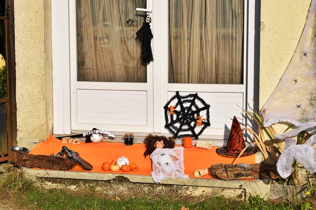 Decoration halloween action diy 4