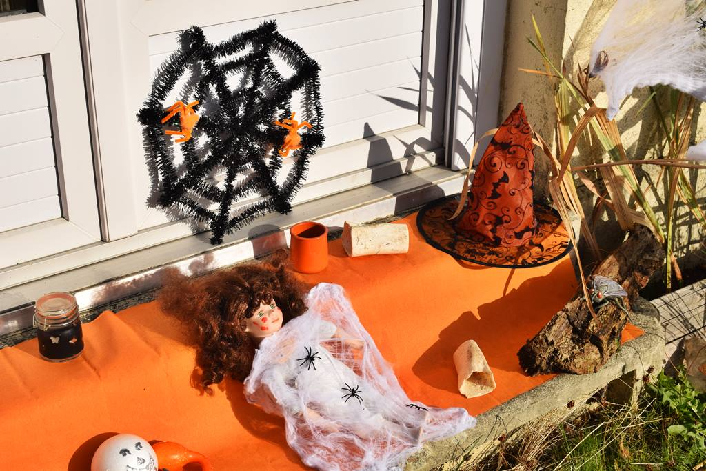 Decoration halloween action diy 7