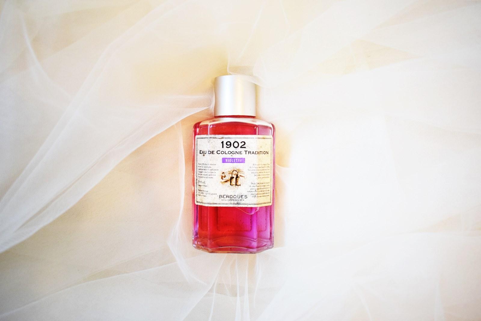 Eau de cologne berdoues violette 1