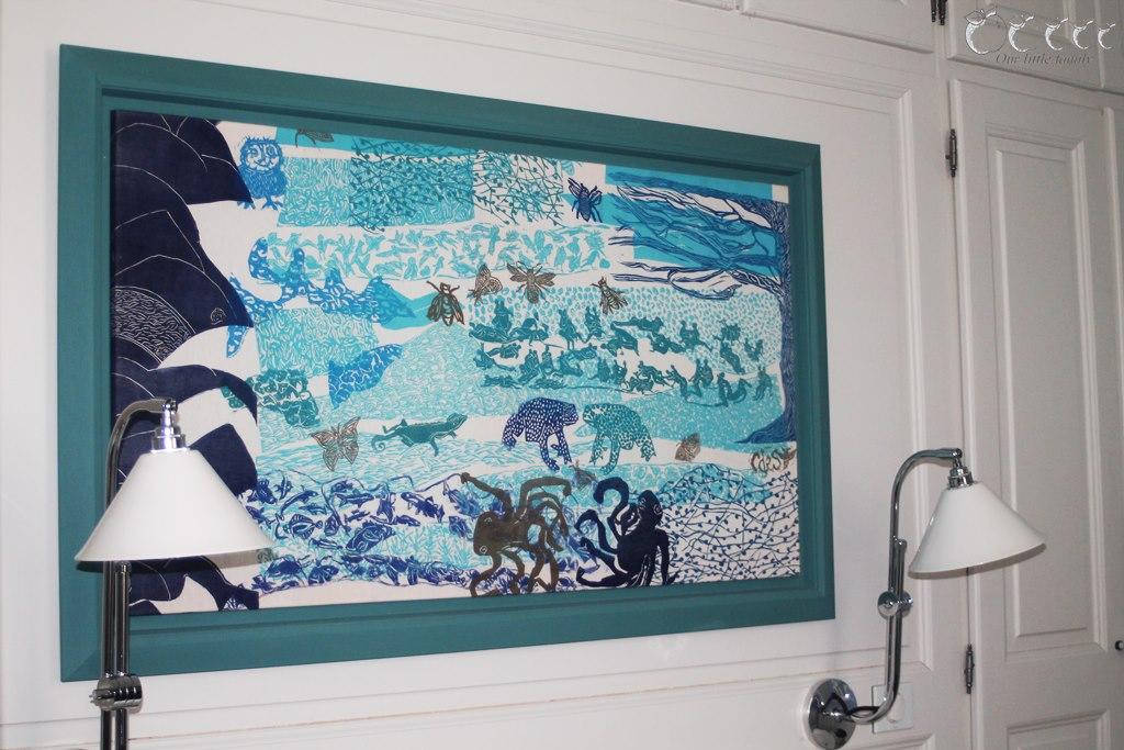 Eden ouest la rochelle chambre bleu