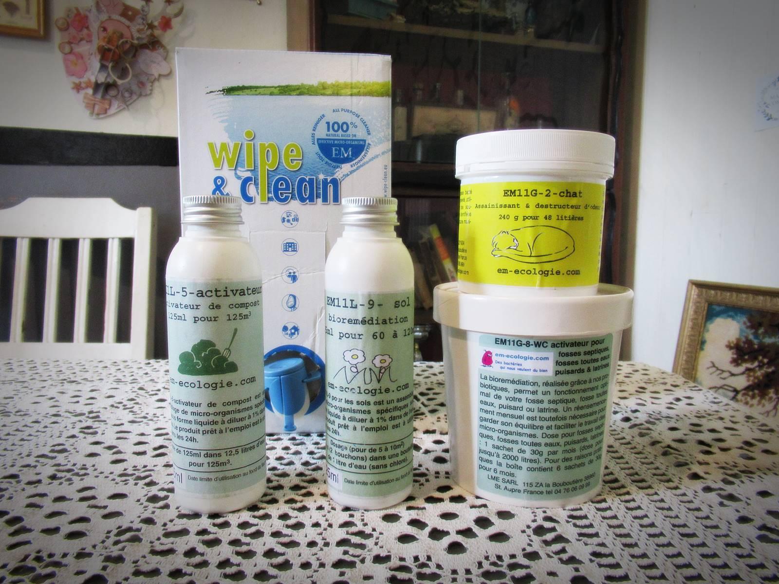 Em ecologie des bacteries magiques et saines pour la maison