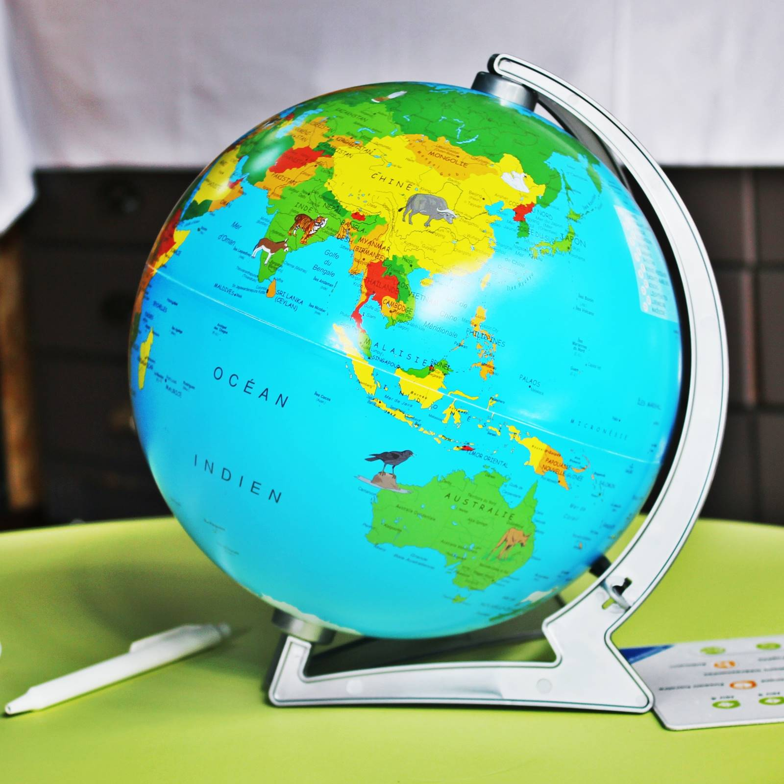 Globe tiptoi ravensburger