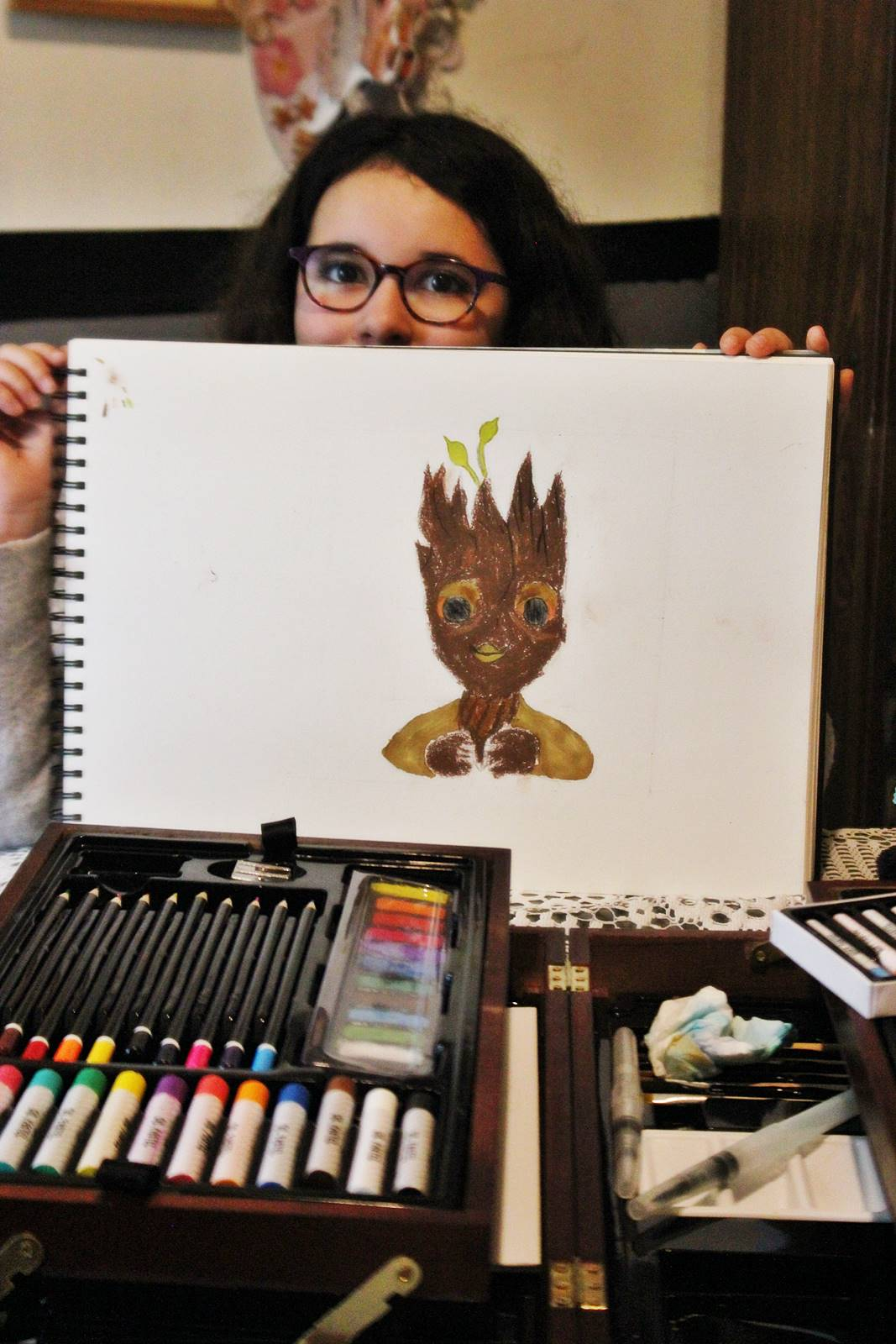 Groot dessin video blog