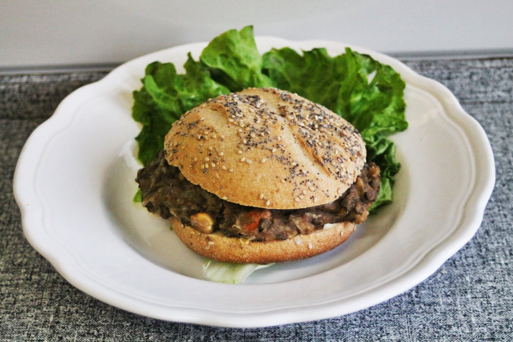 Hamburger vegetarien zero waste 6