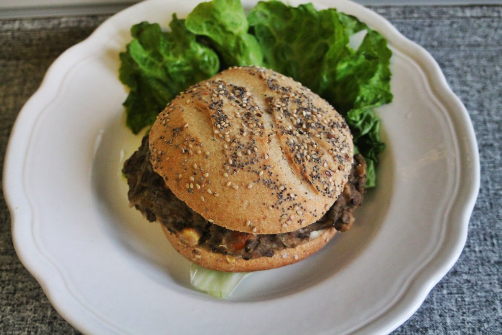 Hamburger vegetarien zero waste 8