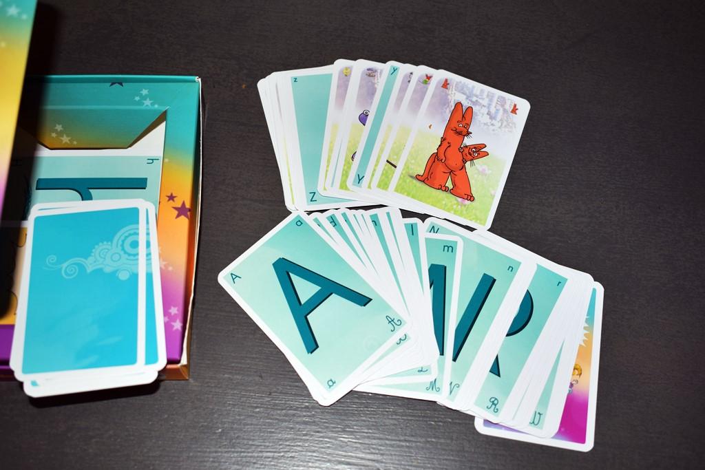 Jeu de cartes les alphas 2