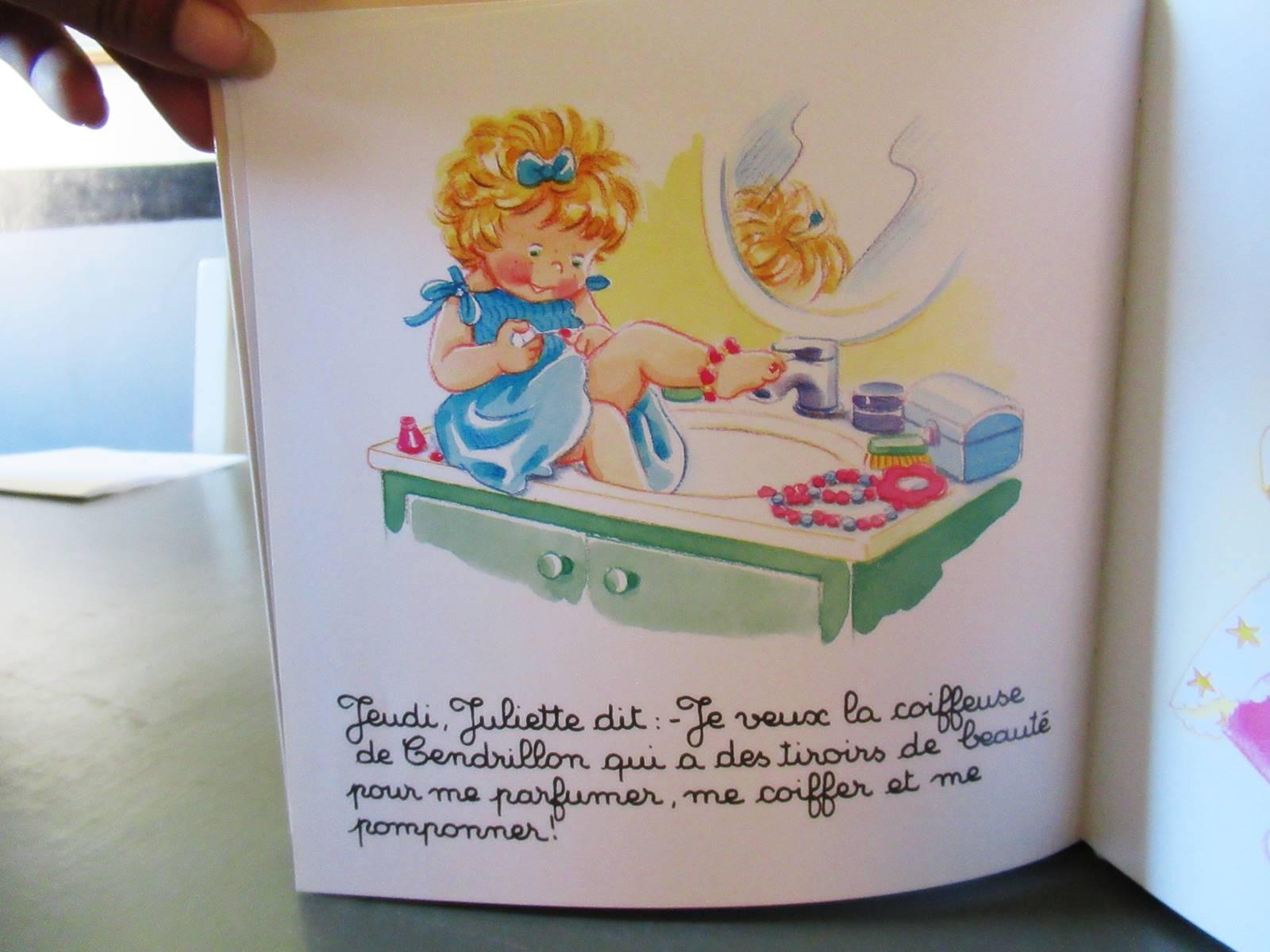 Juliette livre en cursive editions lito 2