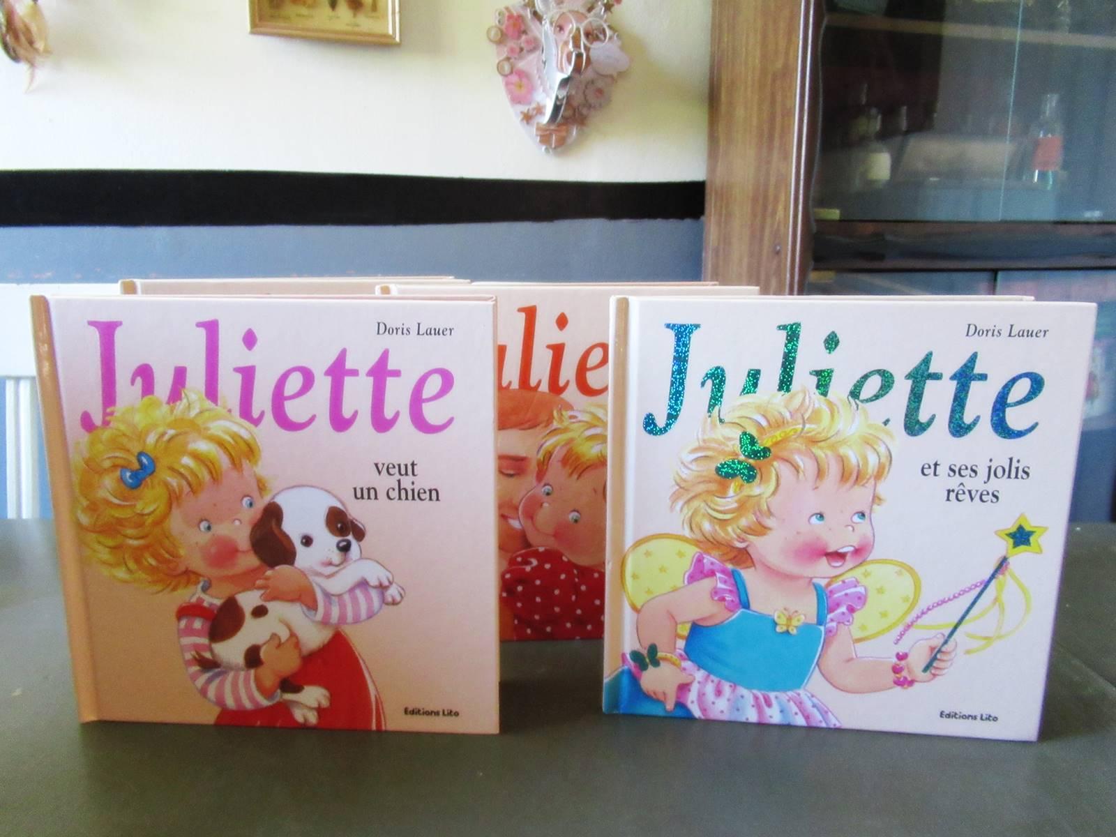 Juliette livre en cursive editions lito