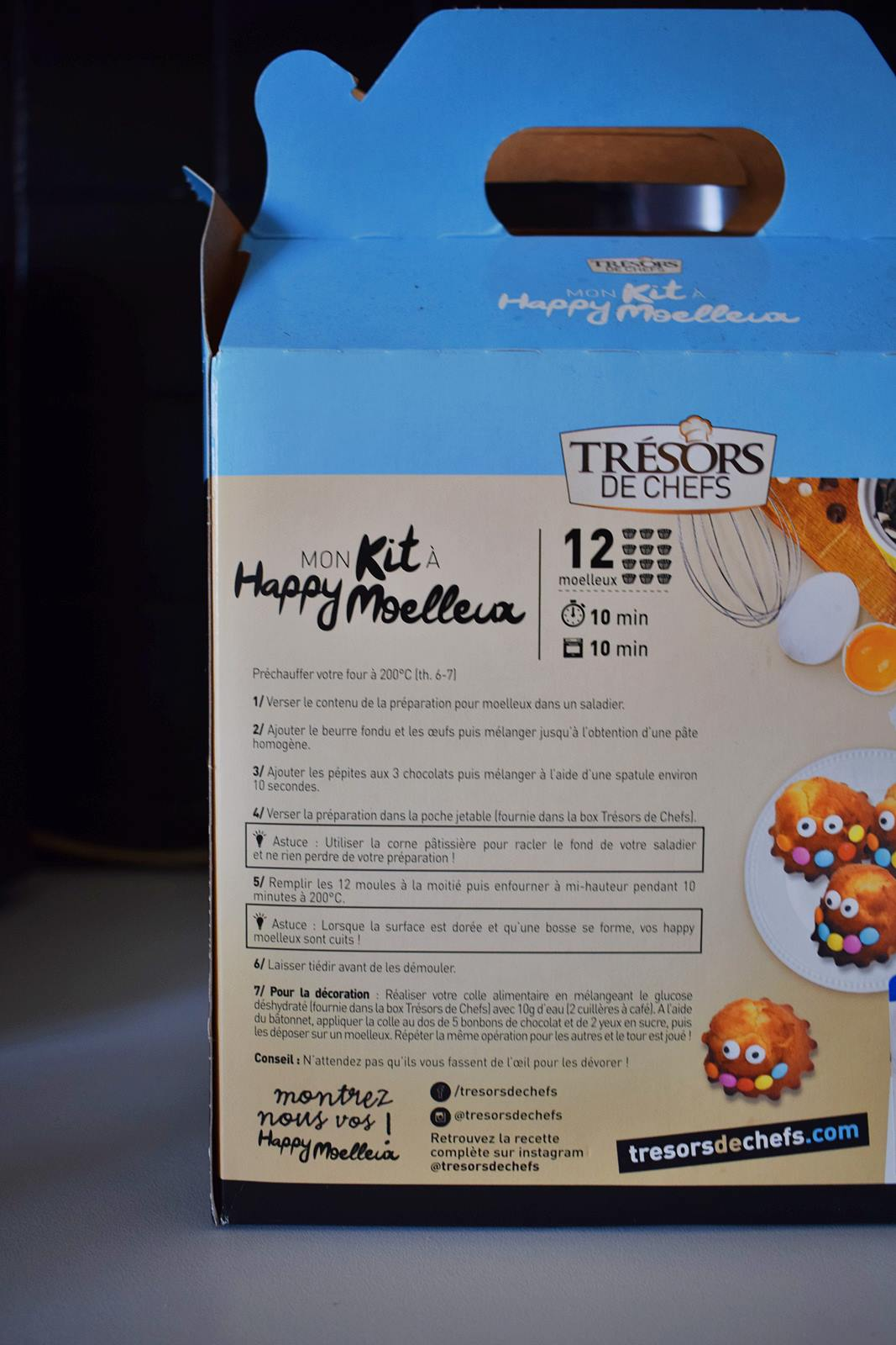 Kit happy moelleux tresor de chefs 1
