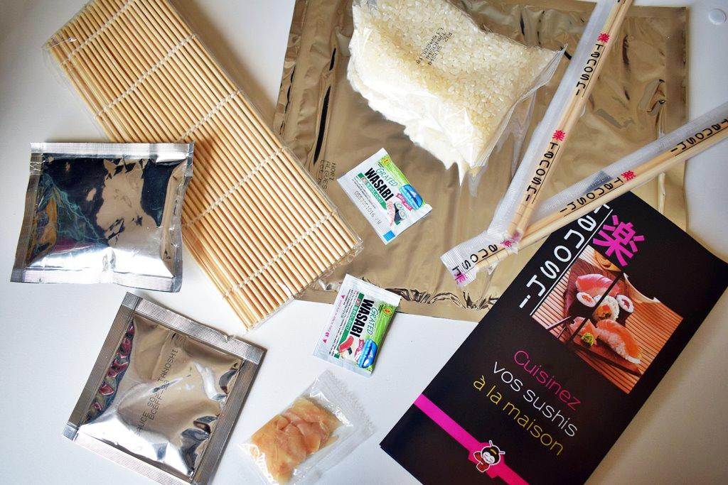 Kit sushi de tanoshi 1