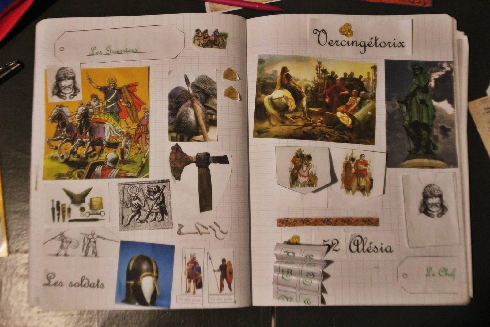 Lapbook gaulois vercingetorix 6