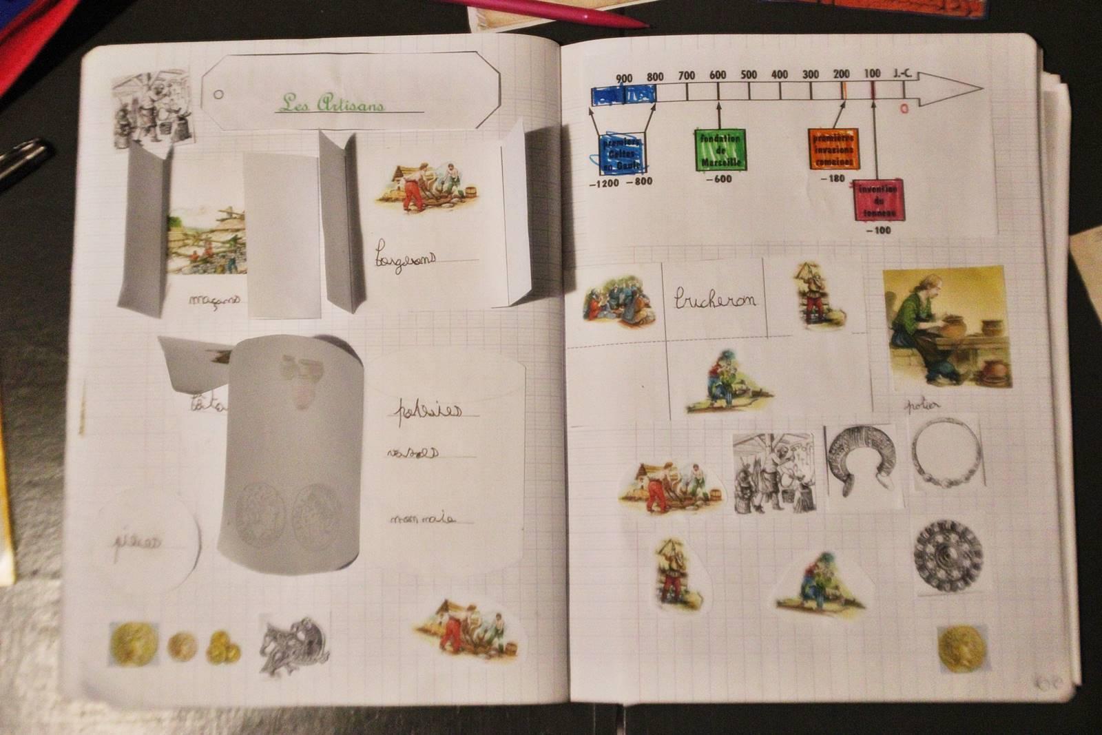 Lapbook gaulois vercingetorix 7