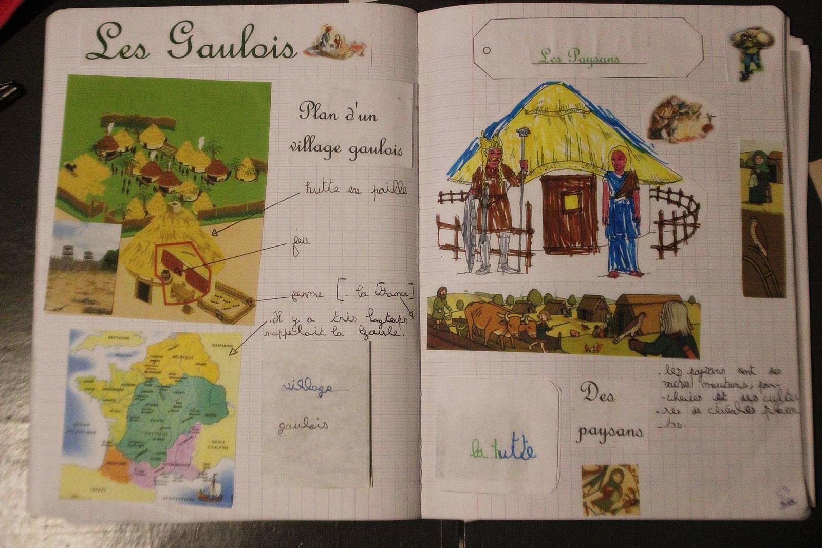 Lapbook gaulois vercingetorix 8