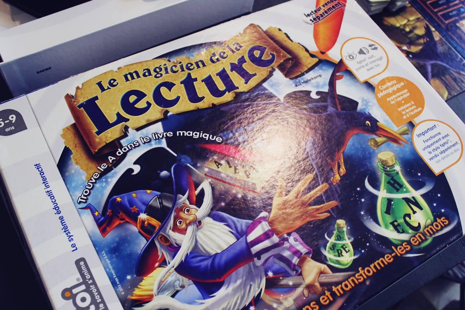 Le magicien de la lecture tip toi ravensburger