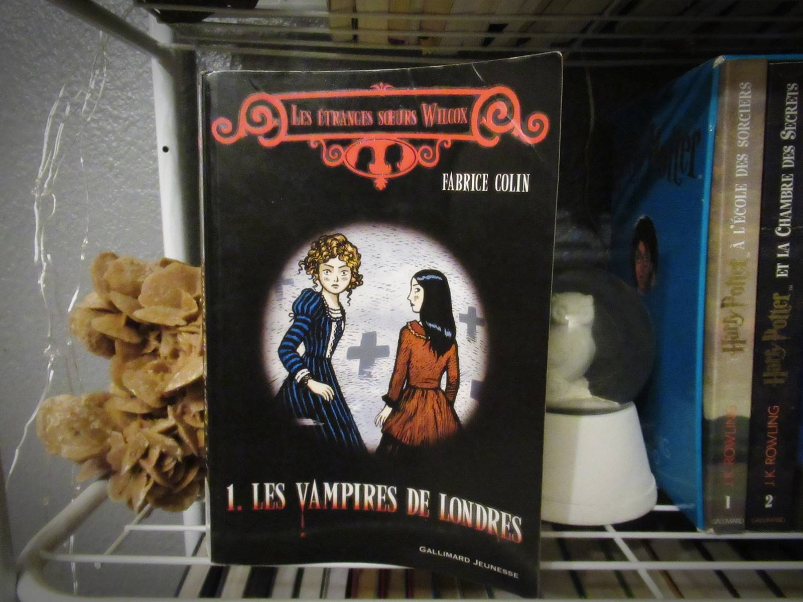 Les vampires de londres gallimard jeunesse