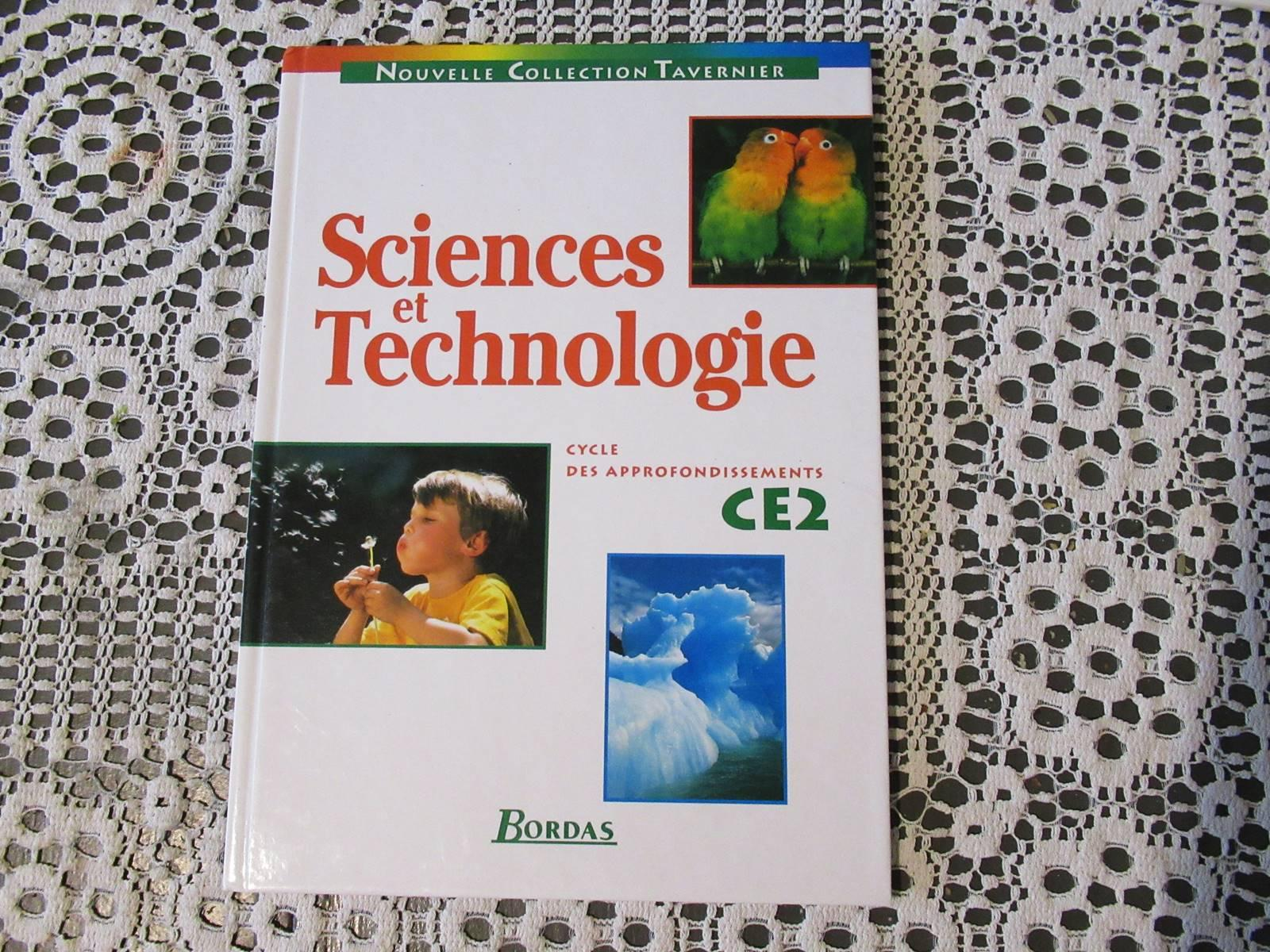 Manuel ce2 science technologie chimie bordas ief 7