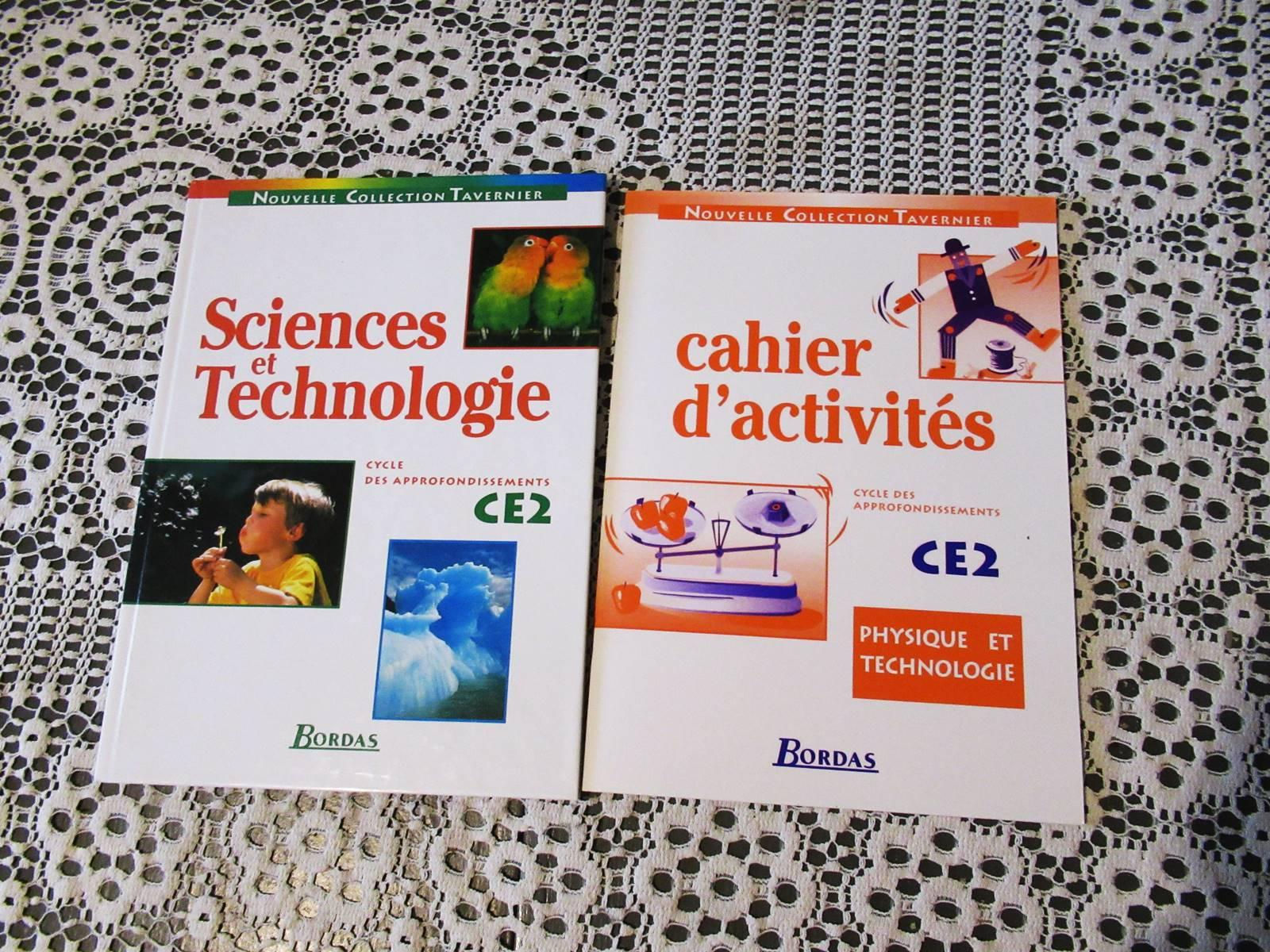 Manuel ce2 science technologie chimie bordas ief