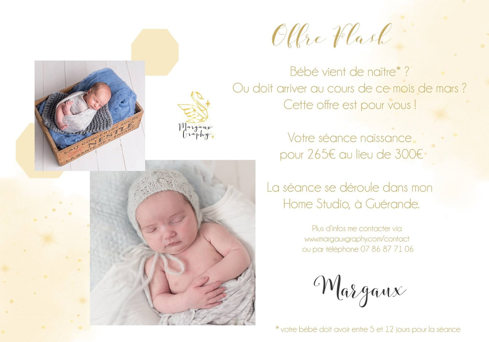 Margaux graphy interview offre flash