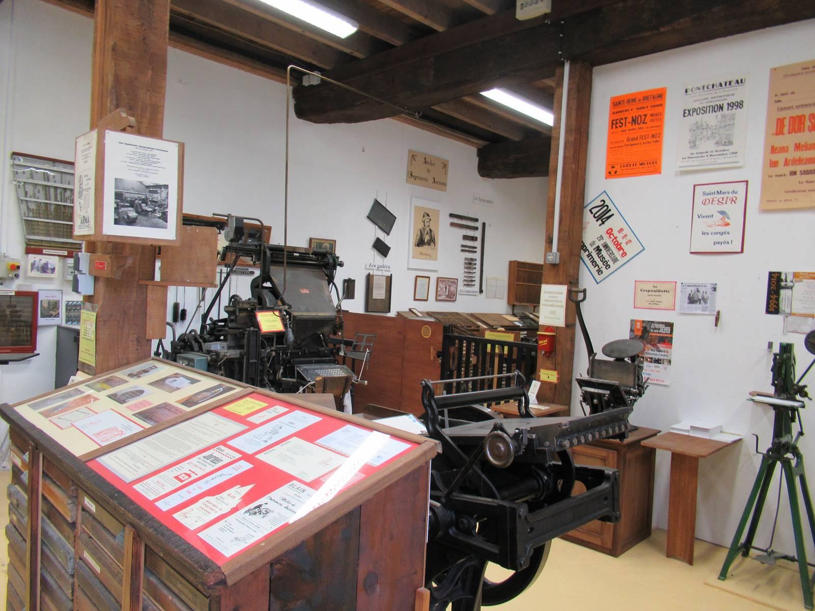 Musee de l imprimerie de blain 1