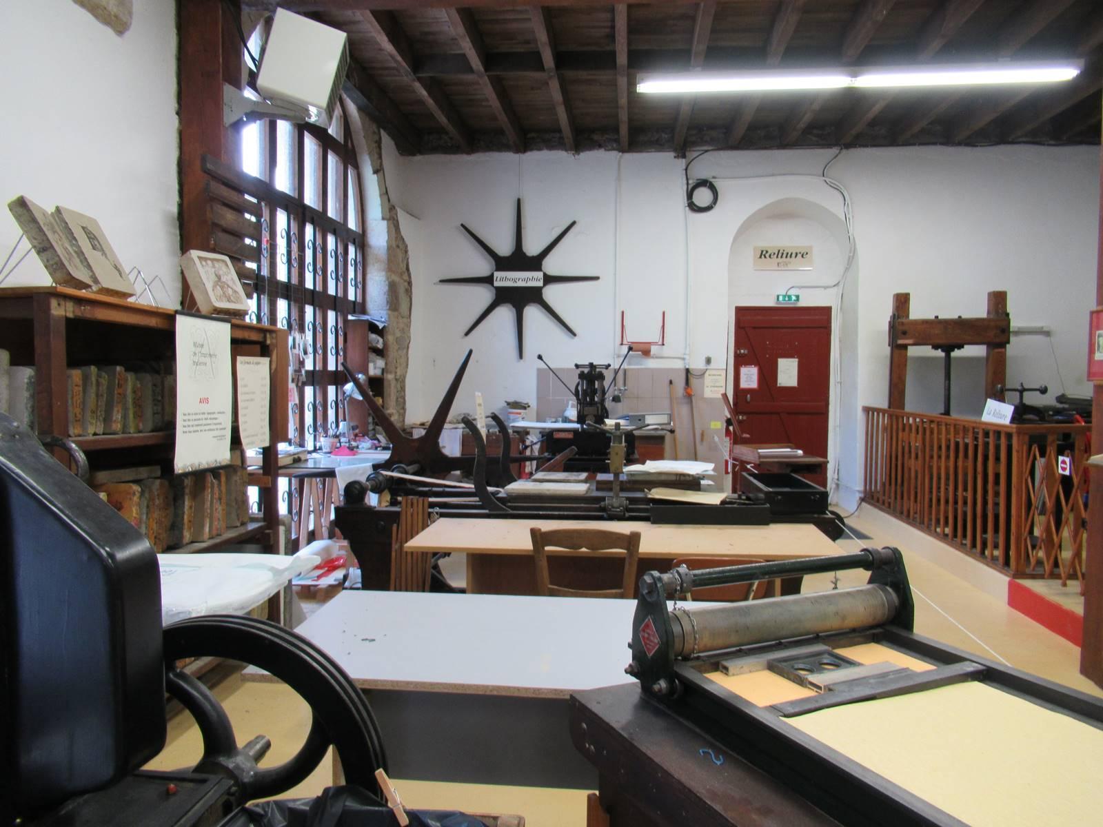 Musee de l imprimerie de blain 2
