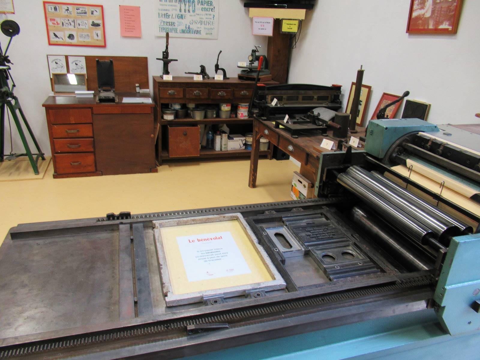 Musee de l imprimerie de blain