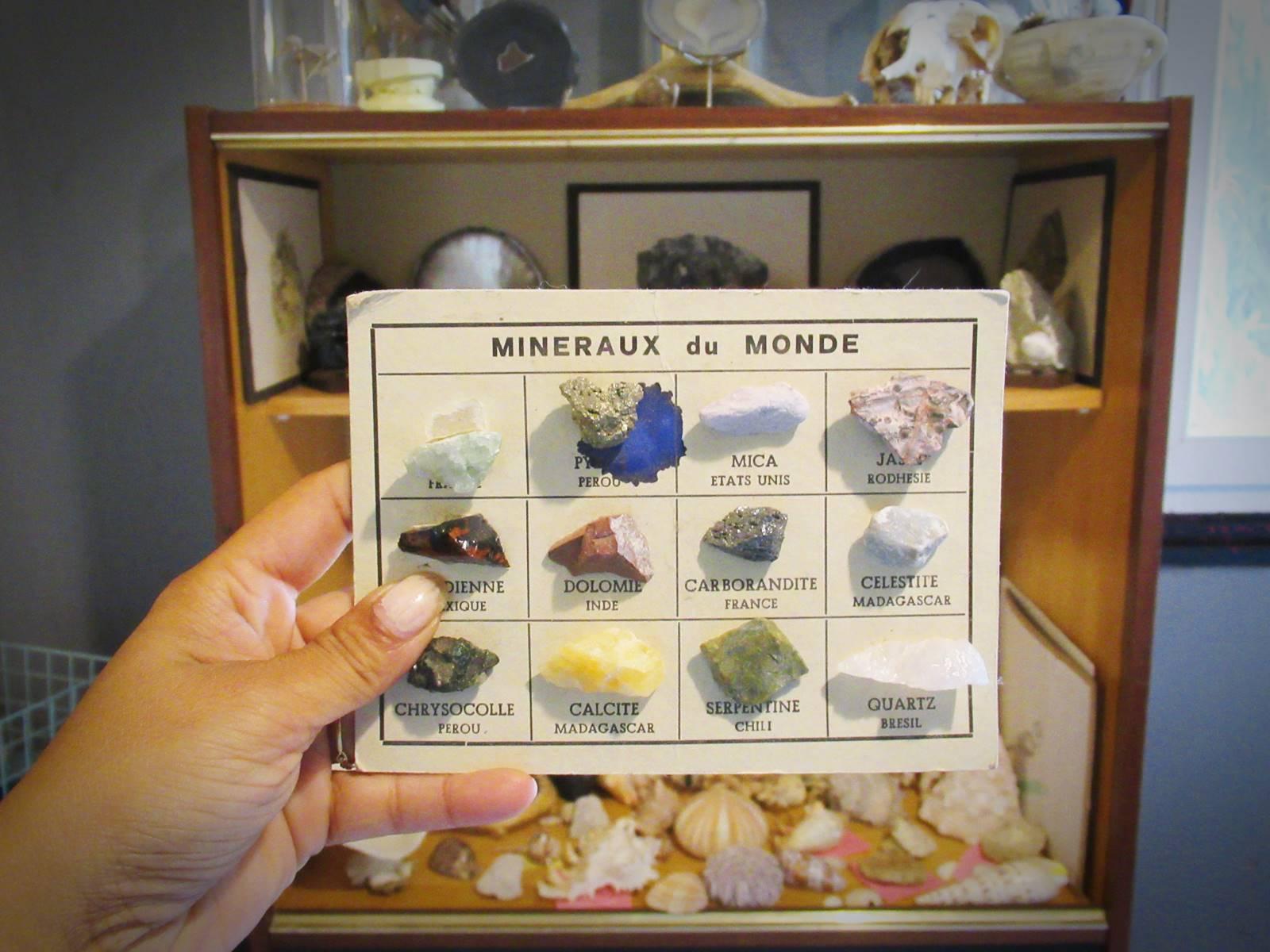 Nos apprentissages autour des mineraux 2