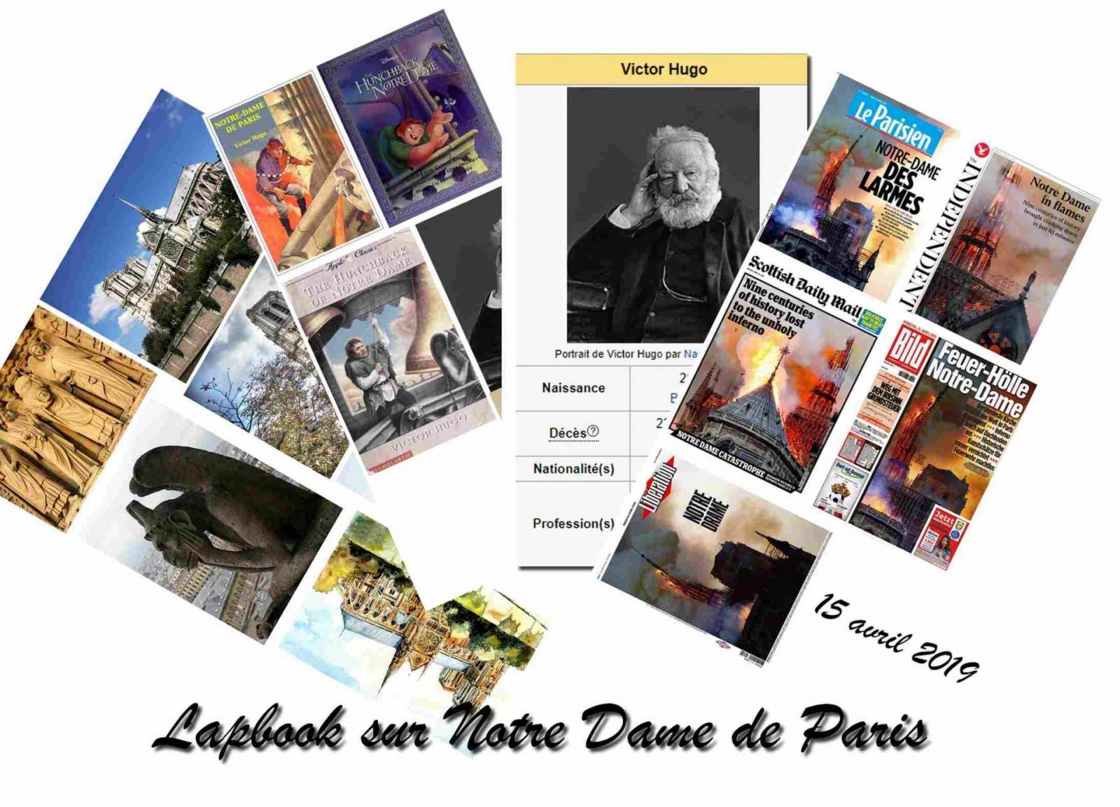 Notre dame de paris lapbook 5
