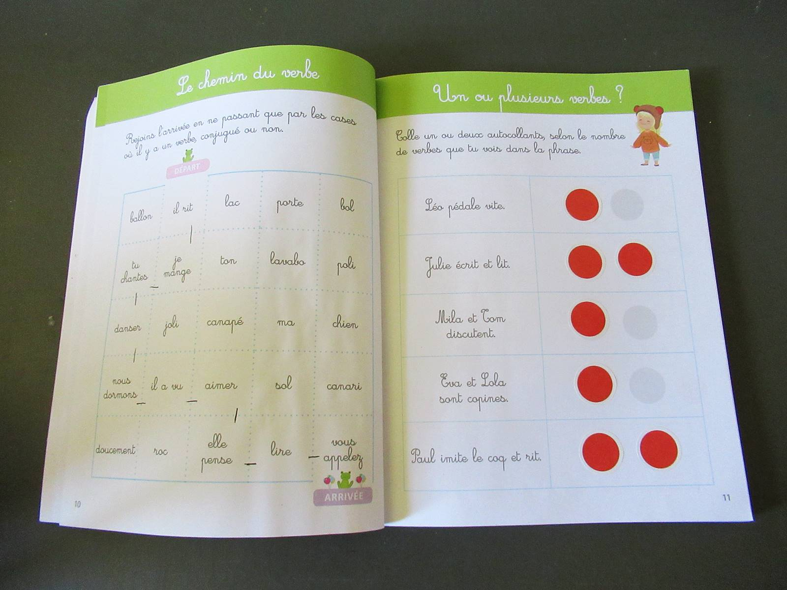 On a teste mon grand cahier montessori de grammaire 3