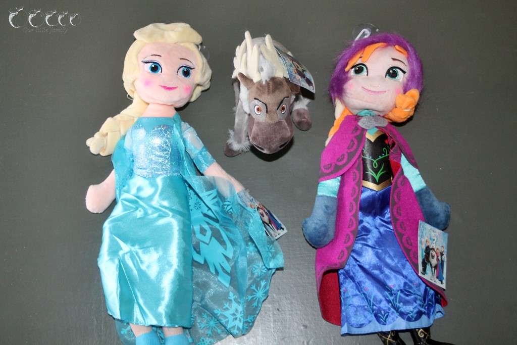Peluches reine des neiges aliexpress
