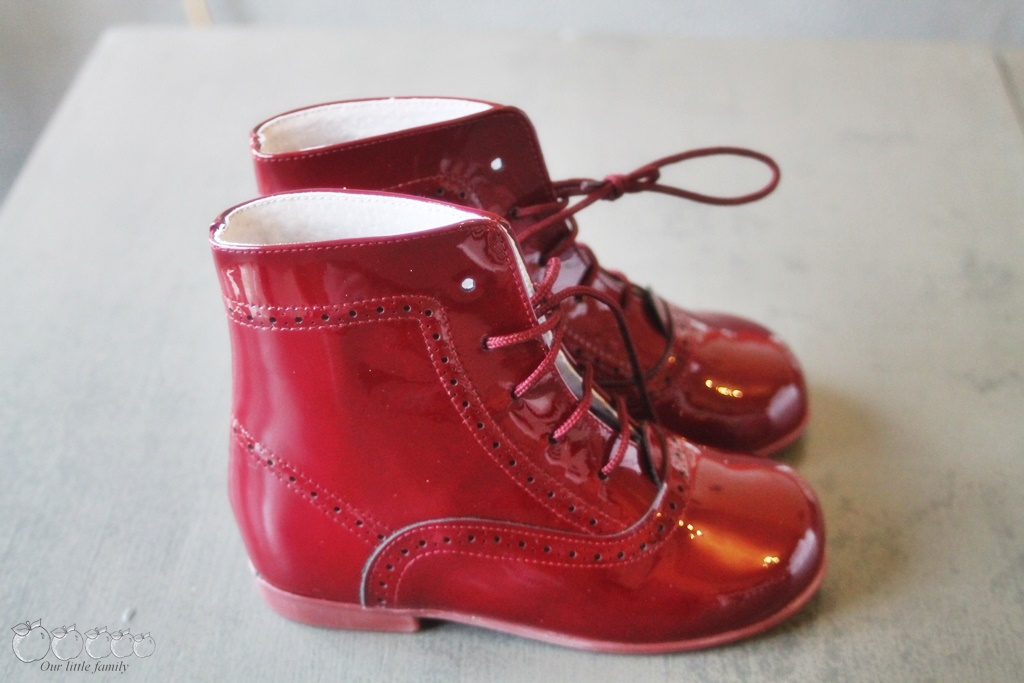 Pisamonas bottines rouge
