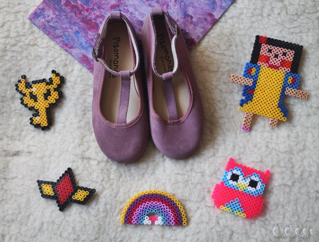 Pisamonas chaussures aubergine