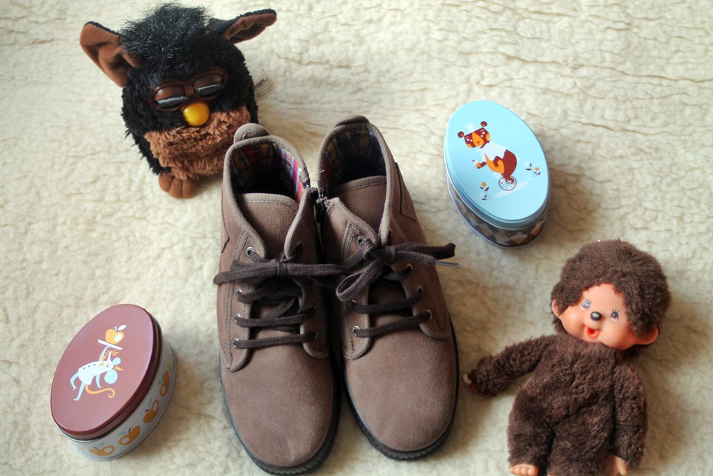 Pisamonas chaussures marron garcon 4