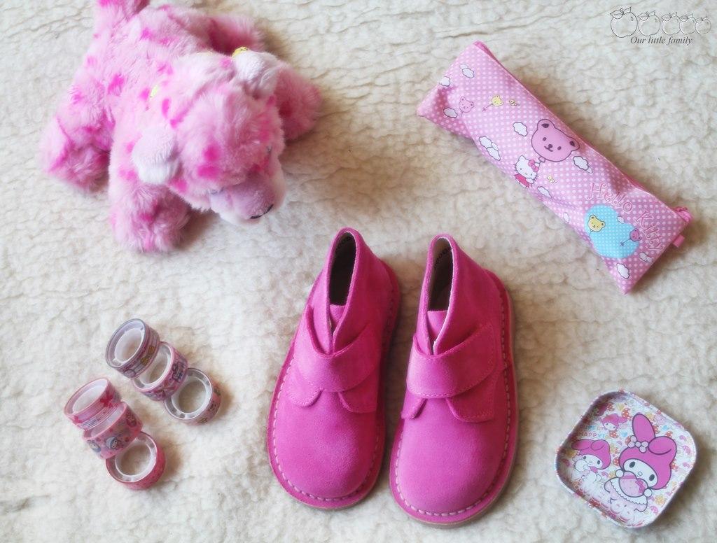 Pisamonas chaussures roses 4