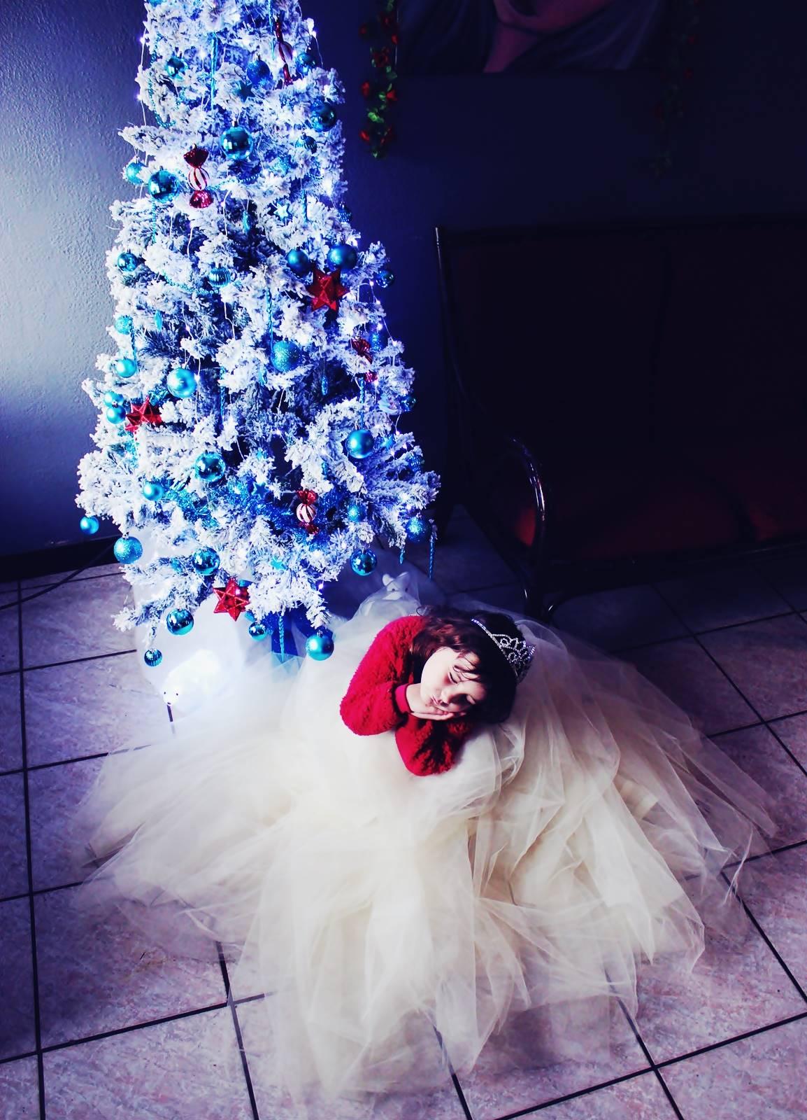 Princesse blog jupon sapin enfant 1