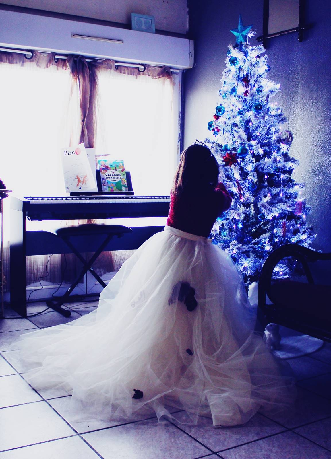 Princesse blog jupon sapin enfant 2